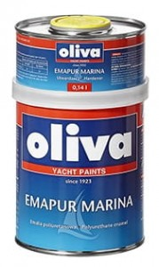 OLIVA EMAPUR MARINA RAL 3000 FLAME RED  0,74L